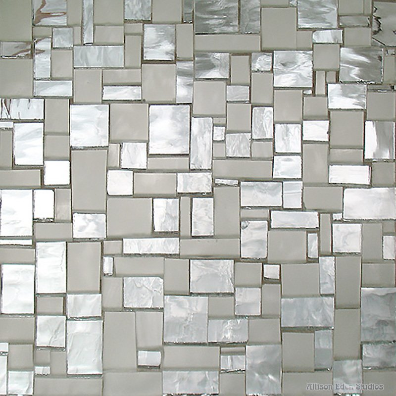 Mini-BlockArt in frosted and ripple mirror