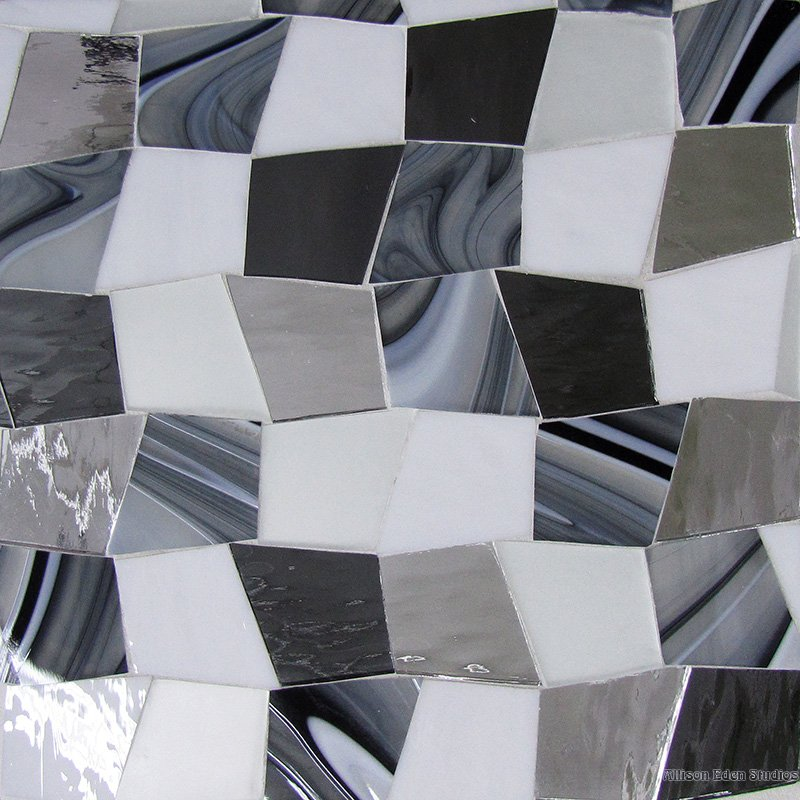 Custom Gray White Blend