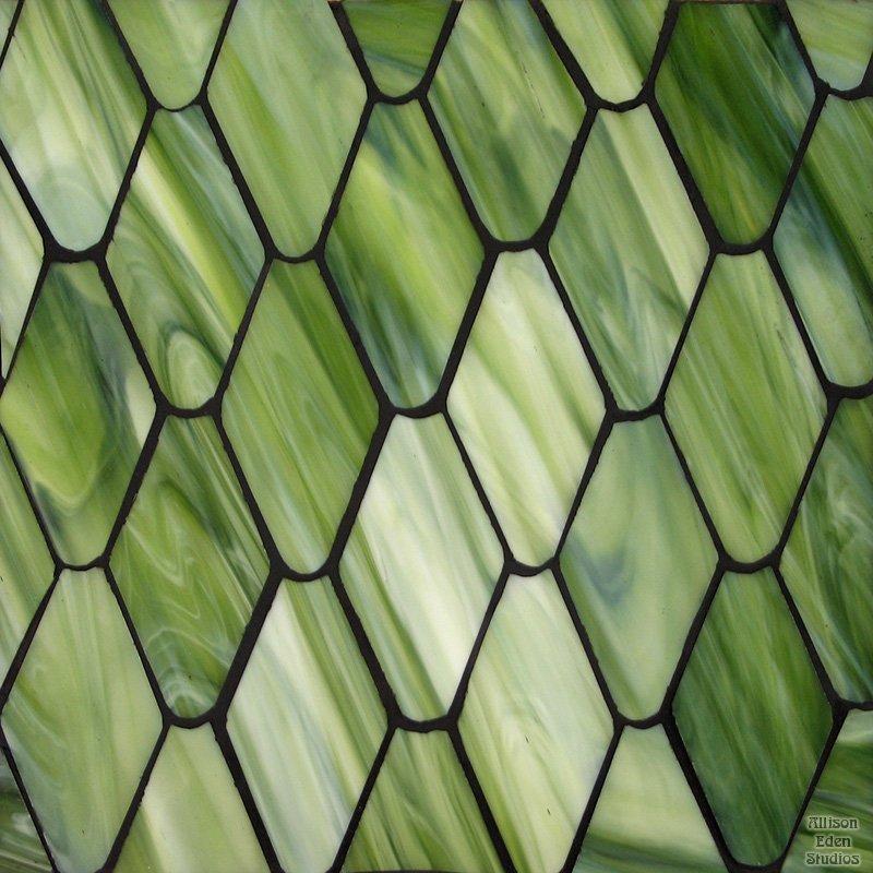 Snake Skin in Green
