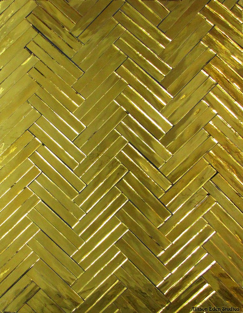I Love Gold- Dbl Herringbone