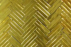 I Love Gold- Dbl Herringbone