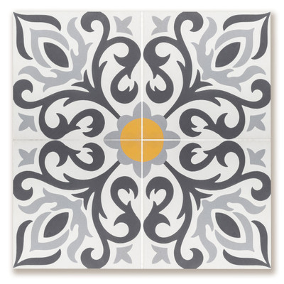 Cement Tile Lyon Display Board
