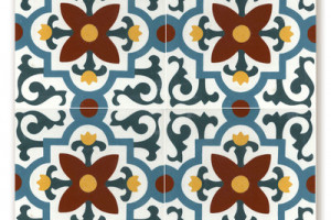 Cement Tile Santa Clara Display Board