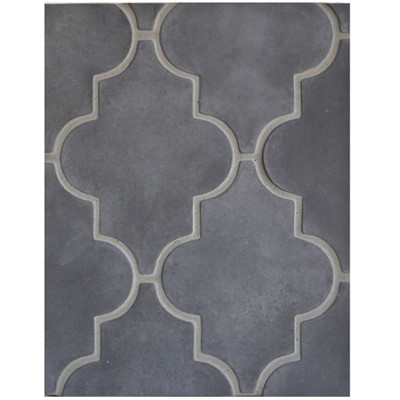 Arabesque Pattern 16 Charcoal Gray