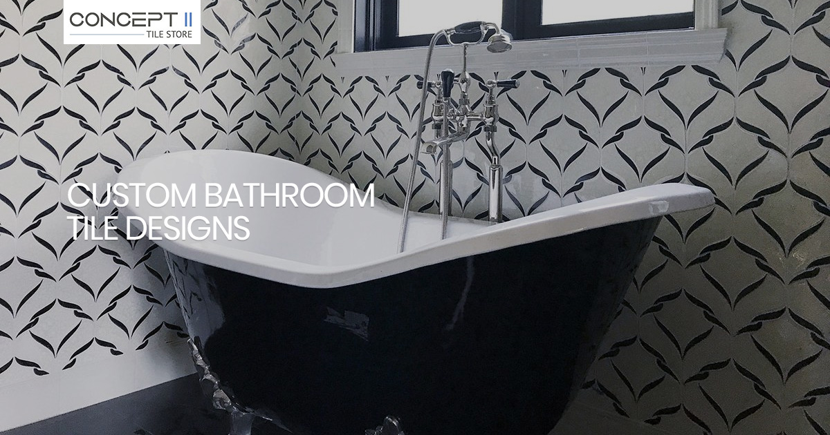 Getting Creative with Custom Tile Bathroom Designs