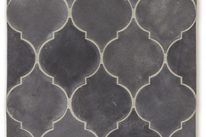 Artillo Arabesque Pattern 5A Charcoal Gray