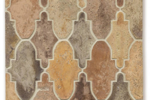 Artillo Arabesque Pattern 14 Creme Fraiche Vintage
