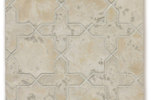 Artillo Arabesque Pattern 2C Hacienda Limestone