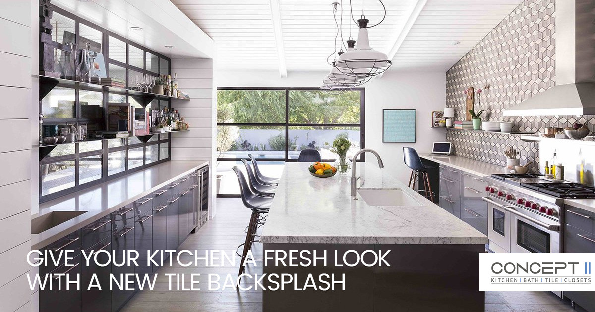 Transform Your Kitchen with a Stunning Tile Backsplash