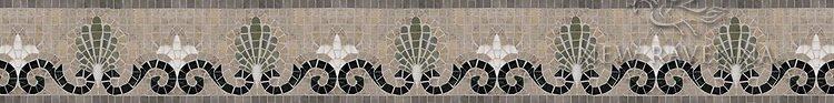 "Goddess 5"" stone mosaic border"