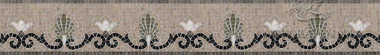 "Goddess 6"" stone mosaic border"