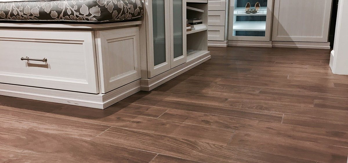 Get the Real Hardwood Look with All the Benefits of Porcelain Tile