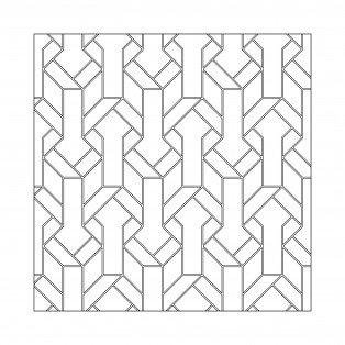 Geometric Custom Bandeau
