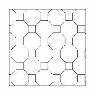 Geometric Custom Block Seville