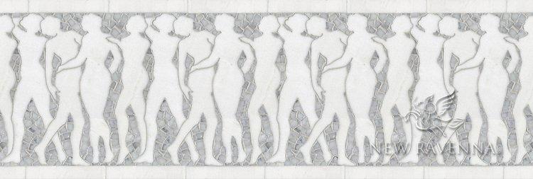 "12 5/8"" Muses border"