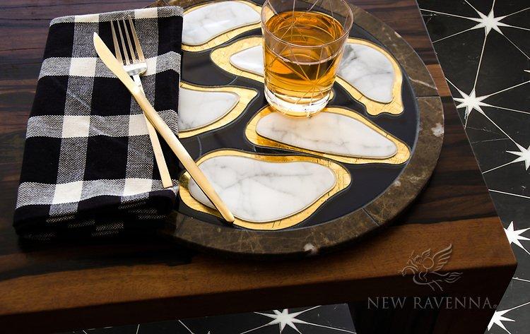 Custom Oyster plate