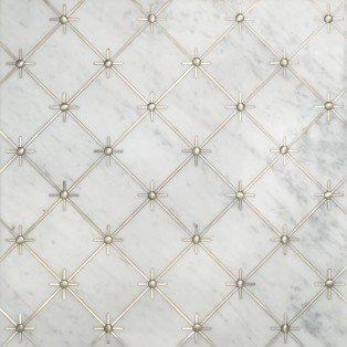 Castello Bianco Carrara/Silver