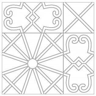 Geometric Custom Patchwork