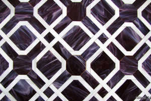 Purple Parquet Pattern