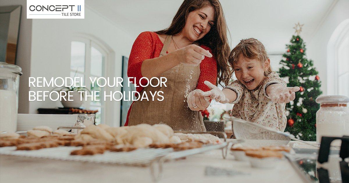 Remodeling Floors in Time for the Holidays