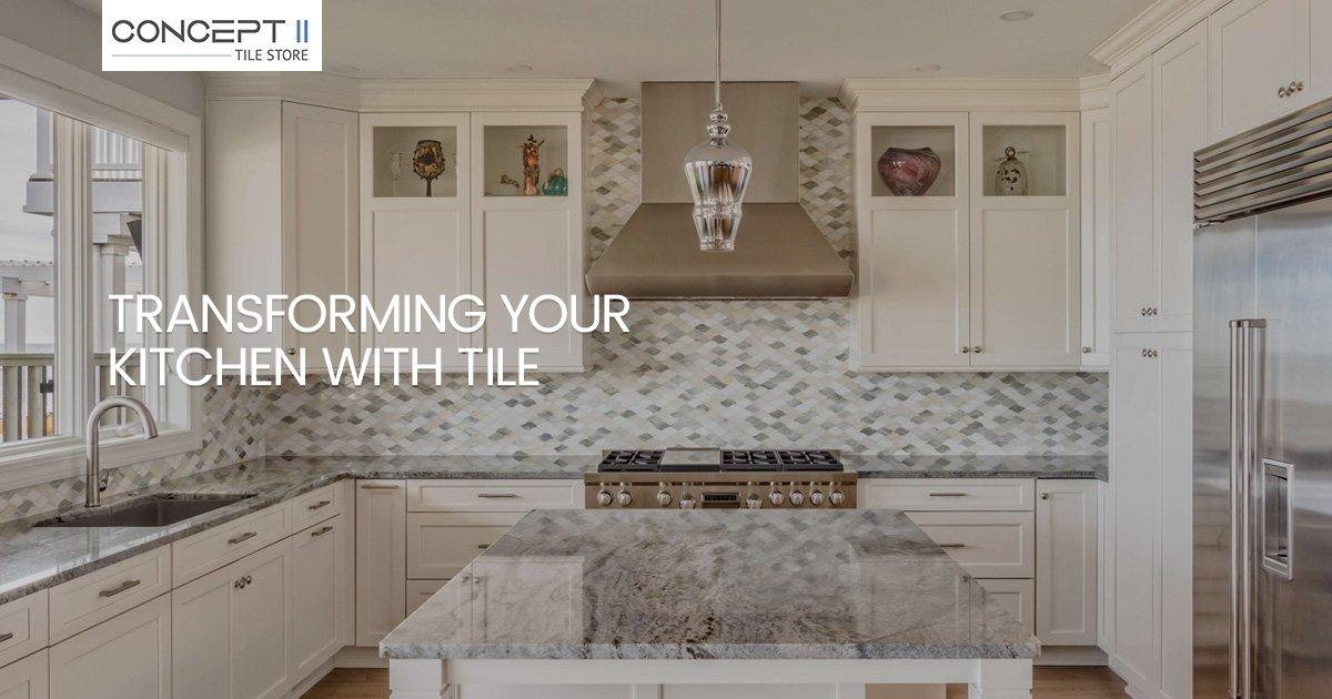Stunning Kitchen Tile Transformations