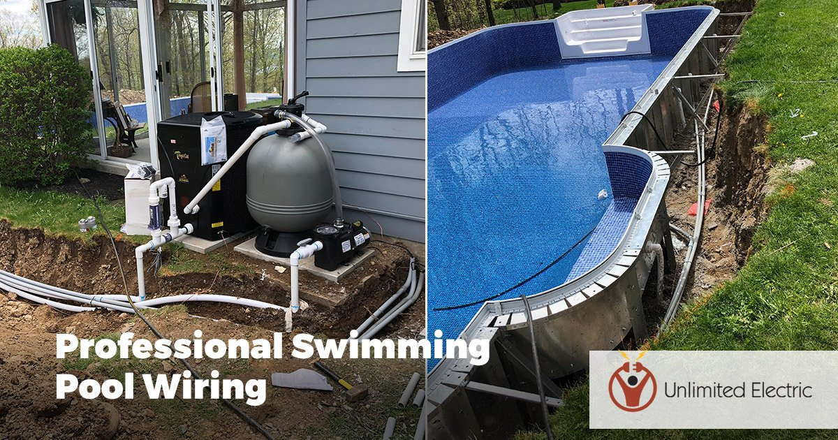 Swimming Pool Wiring and Electrical
