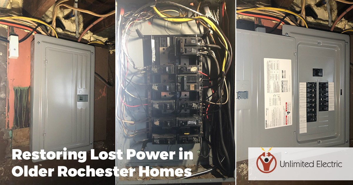 Restoring Lost Power in Older Rochester Homes