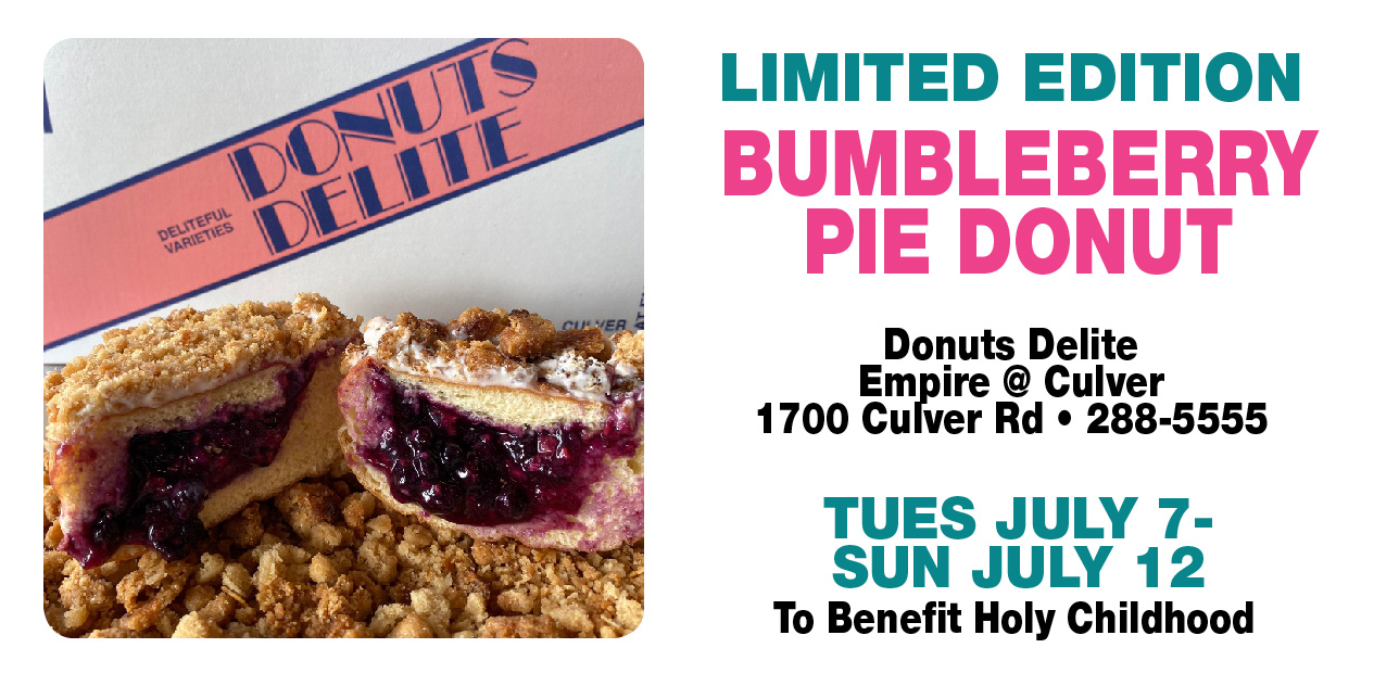 Bumbleberry Pie Donut - For Holy Childhood