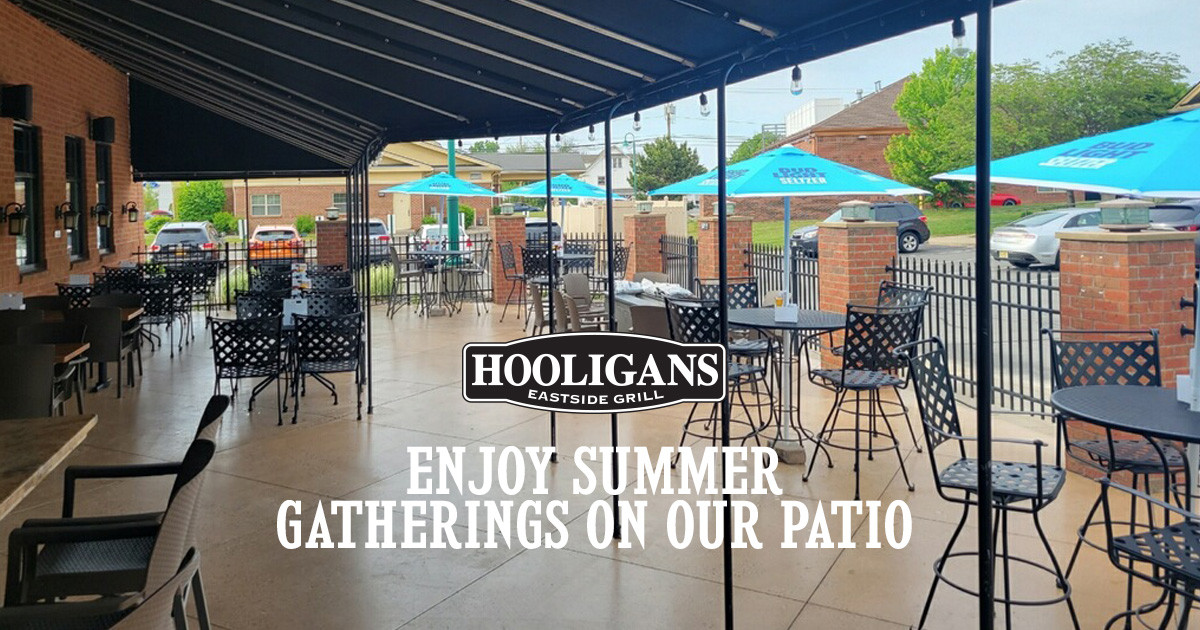 Enjoy Summer Food, Fun and Drinks on Our Patio