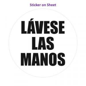 Wash Your Hands Lavese Las Manos Spanish