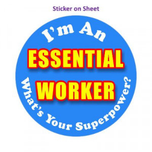 Im An Essential Worker Whats Your Superpower Blue