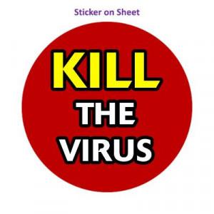 Kill The Virus Dark Red