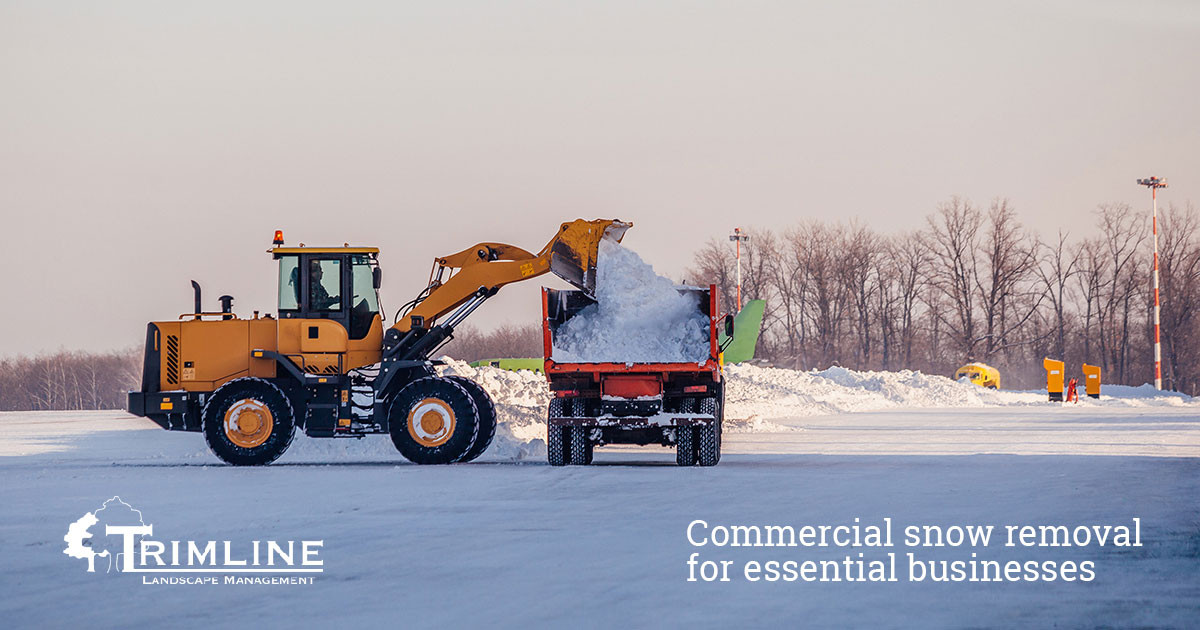 Commercial Snow Removal for Rochester NY Businesses
