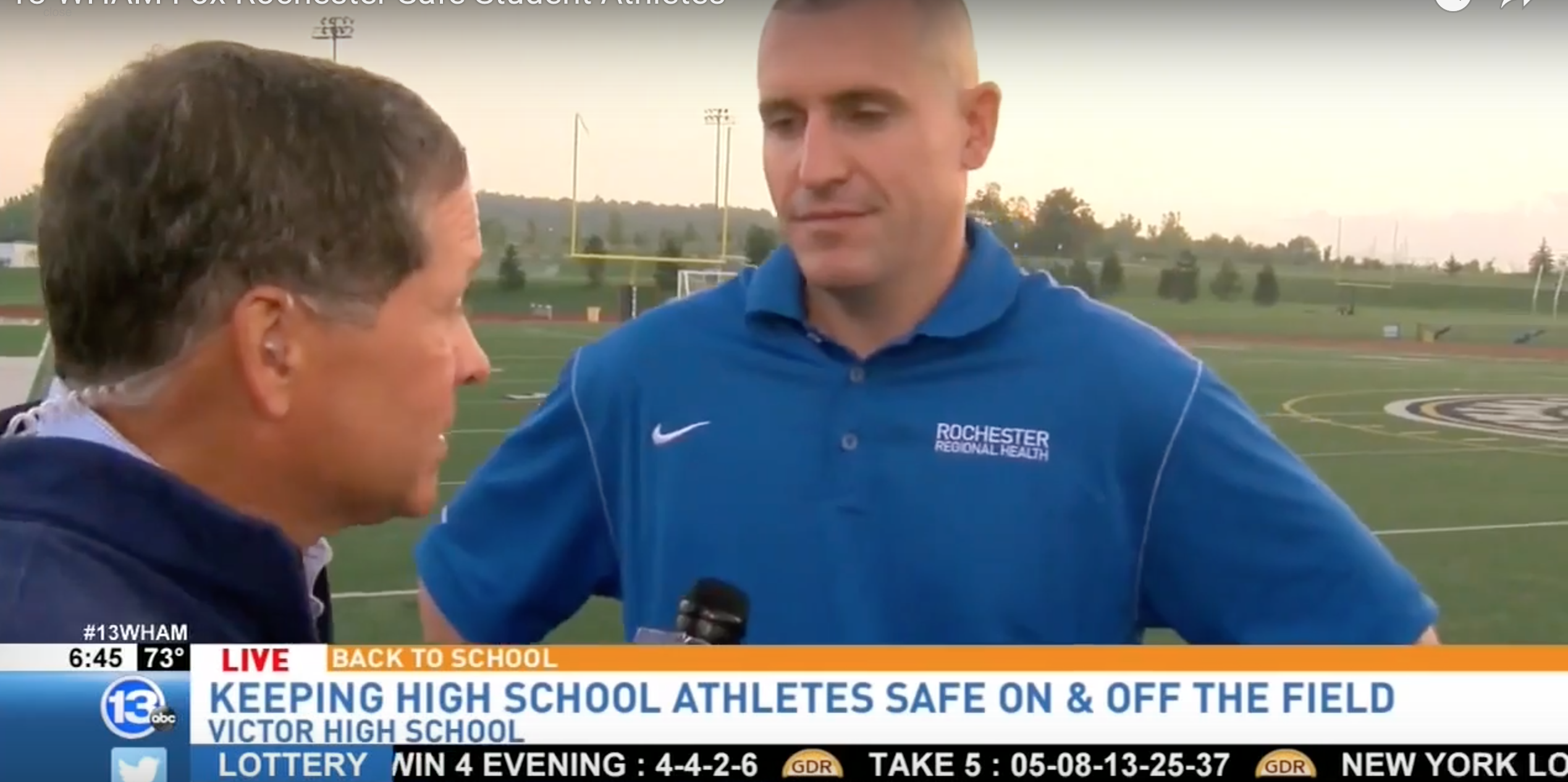 Our Dr. Chris Brown On Student Athlete Injury Prevention