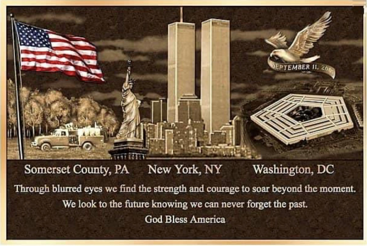 Never Forget, 20 Years since 9-11
