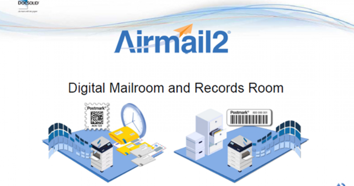 Digital Conversion- Mailroom and Records Room