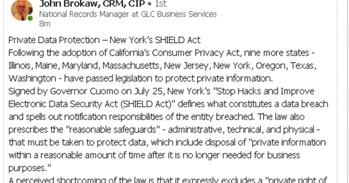 NYS SHIELD Act