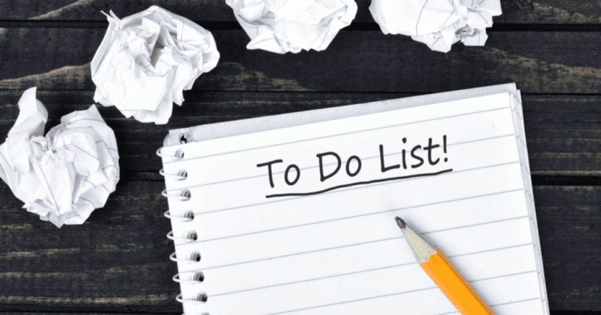 Turn your 'To Do' list into To Done