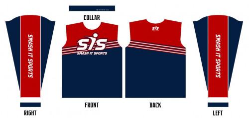 SIS 6-Stripe Long Sleeve Shirt