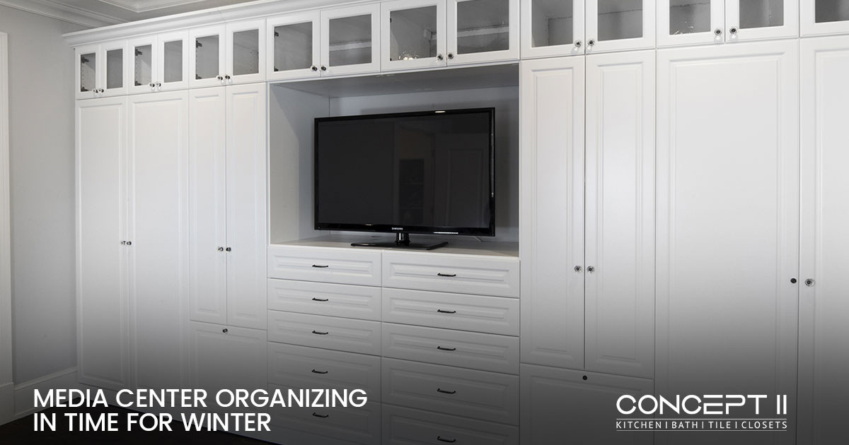 Expert Media Center Organization to Enhance Your Winter