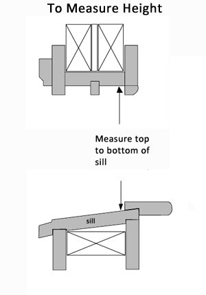How to Measure the Height of a Window