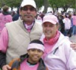 Pink Ribbon Walk in 2009
