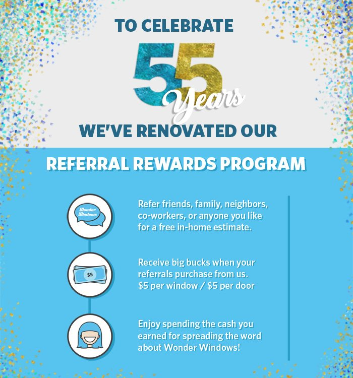Wonder Windows Referral Rewards Program