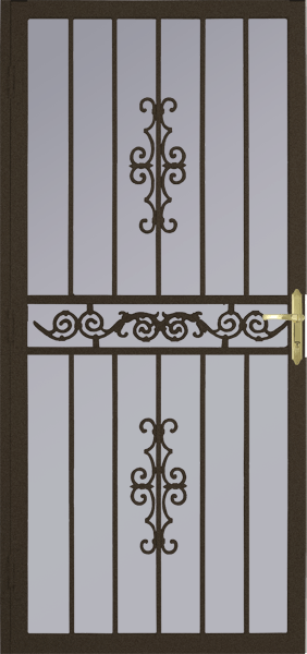 Steel Security Storm Door Clearwater Style