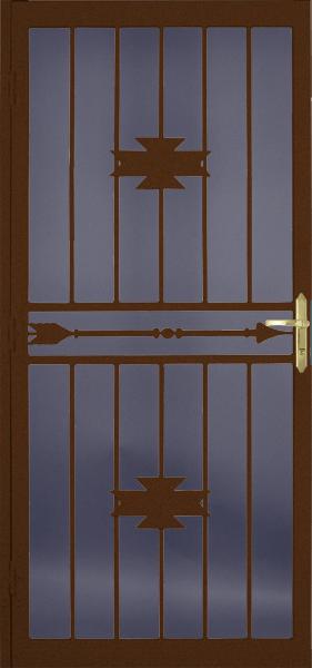 Steel Security Storm Door Dakota Style
