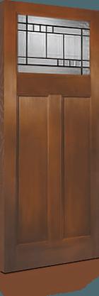 Textured Fiberglass Door