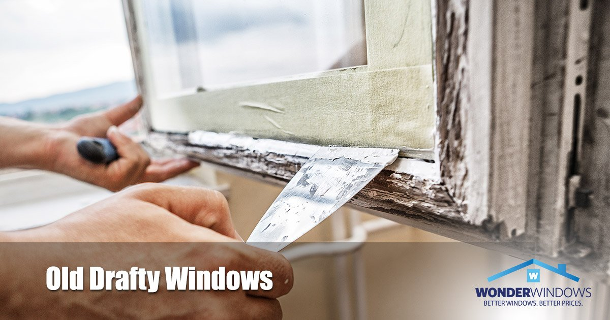 Dealing with Drafty Windows