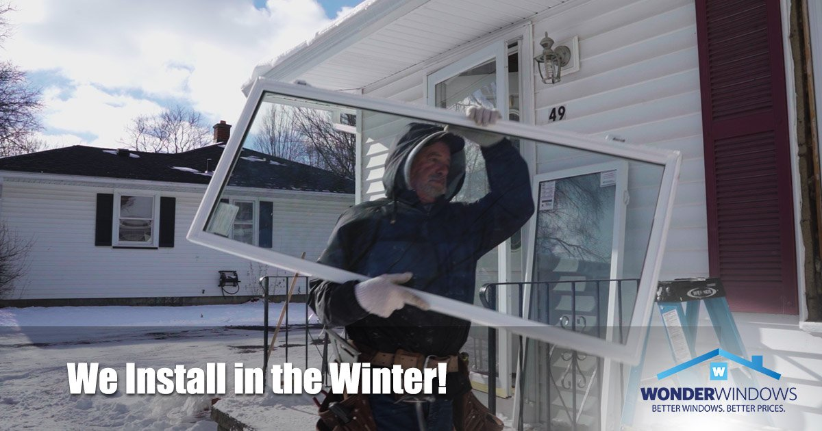 Expert Window Installation During the Winter Months