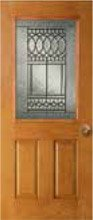 Paris Door Glass Style PA61