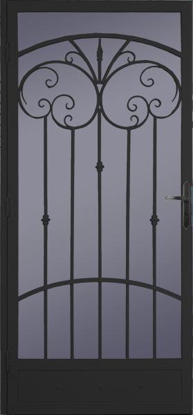 Steel Security Storm Door Palazzo Style